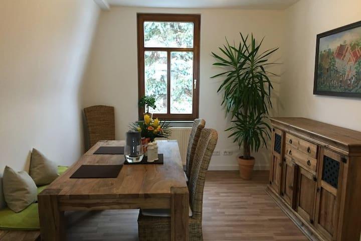 Zweistöckige Traumwohnung am Weinberg - Bensheim - Daire