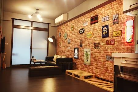 LeHumble@Ximending#2 BrandNew MRT LOFT House(1~8人)
