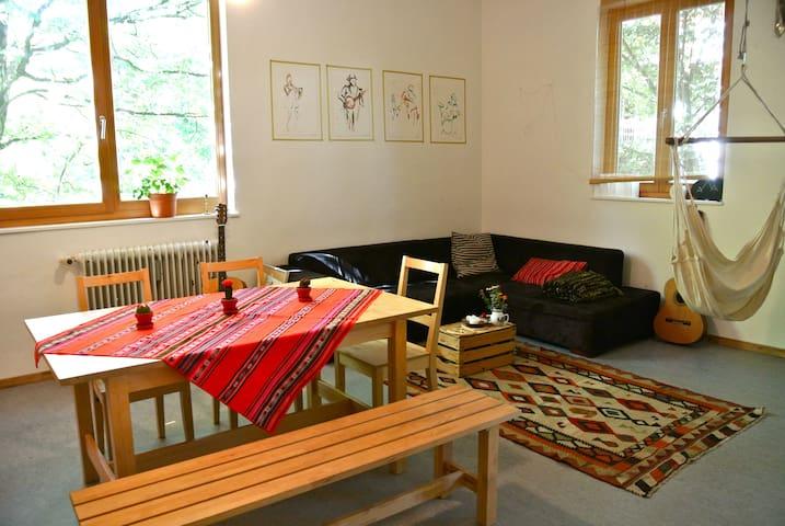 Beautiful apartment in Artist House - Munich - Leilighet