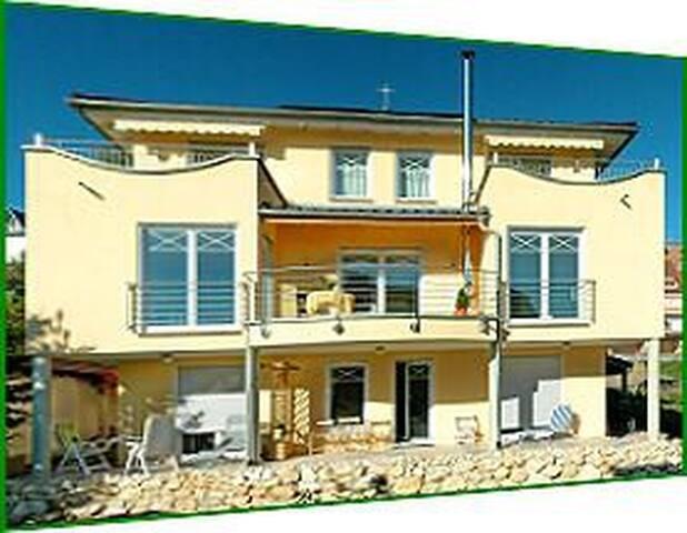 """Wohnung  """"Garten""""  am Bodensee im Haus Jacqueline"""