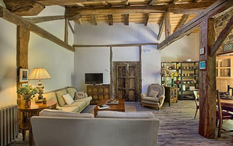 Casa Rural La curva de María en Reserva Saja-Nansa - Terán-Cabuérniga