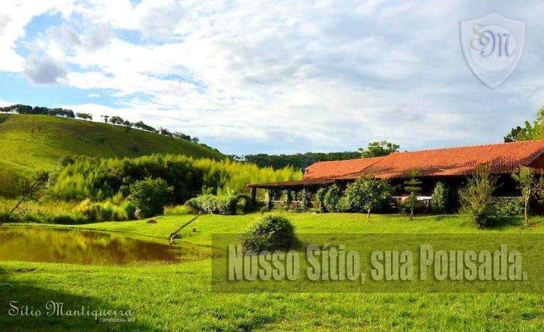 Sitio Pousada Mantiqueira - Camanducaia - Bed & Breakfast