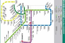 Sky train(BTS) Map