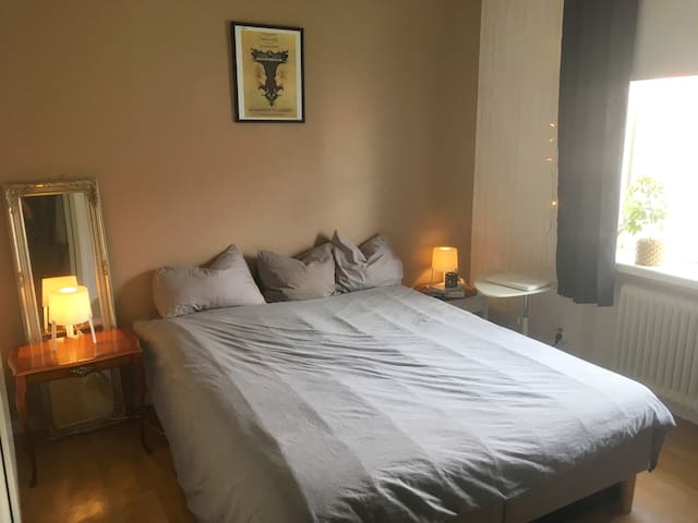 Double room close to Beach in Central Jönköping