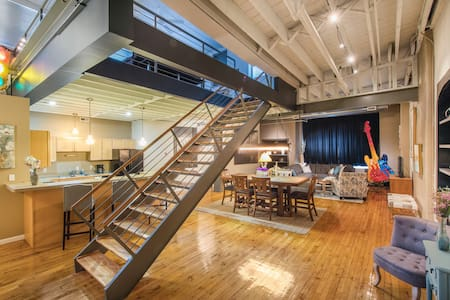 Private Spacious Loft Downtown Cleveland - Cleveland - Loft