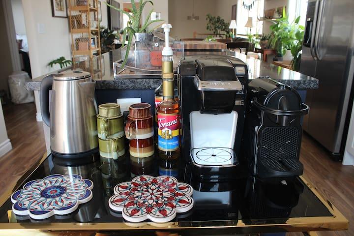 Coffee/Tea Bar