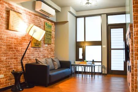LeHumble@Ximending Brand-New MRT LOFT House(1~9 人)