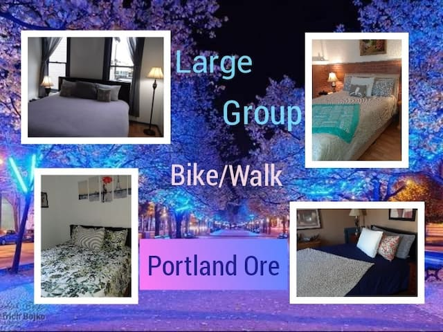Large Group - Walk/Bike Downtown Portland