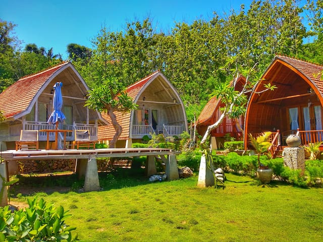 Nature  Beach Bakung Cozy Cottage I at Nusa Penida
