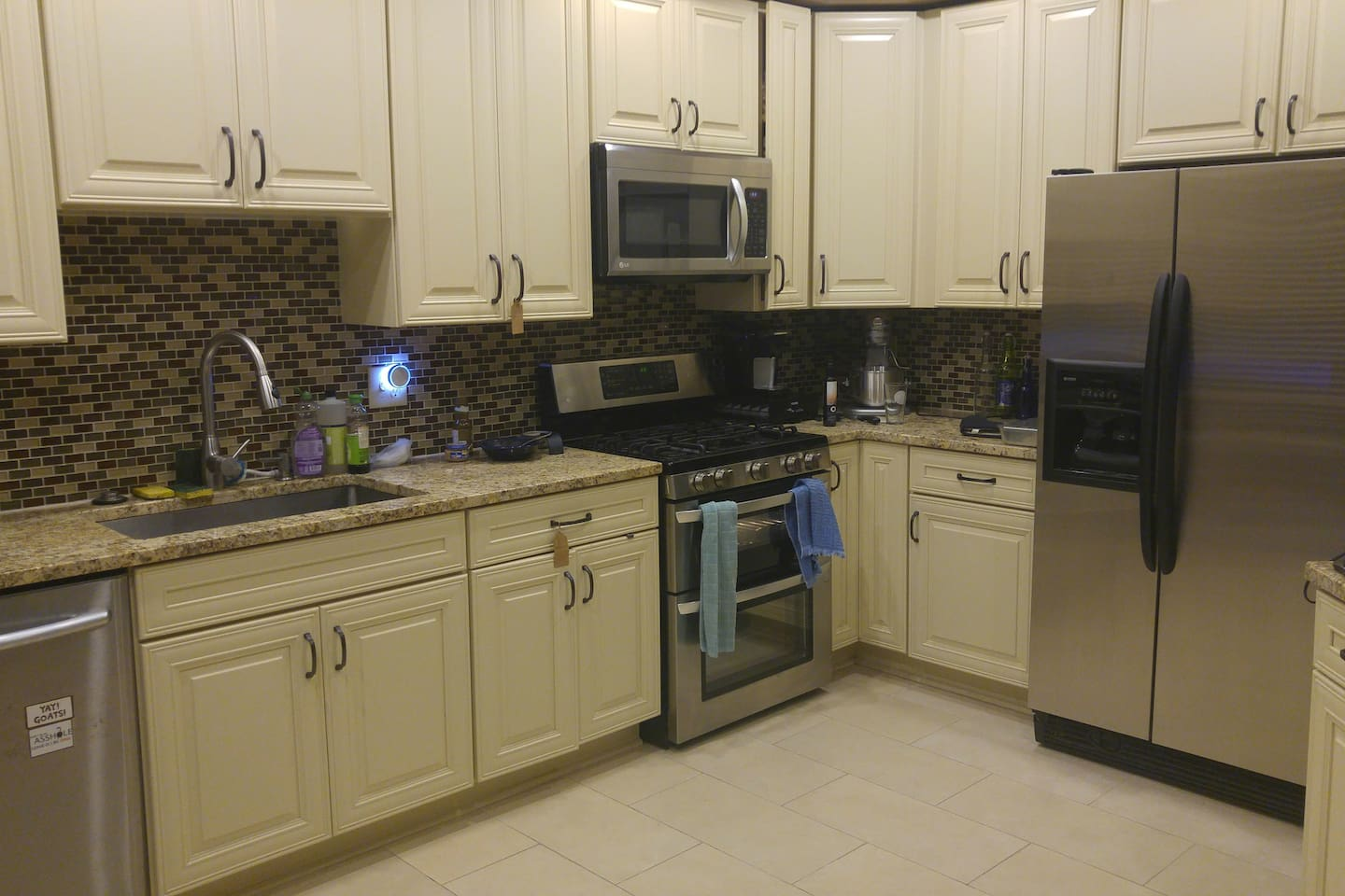 The kitchen is available for you to use.