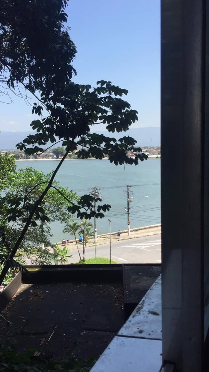 Kit em São Vicente com vista