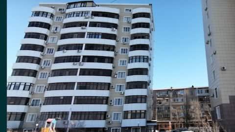 Двухкомнатная квартира на живописном берегу Урала