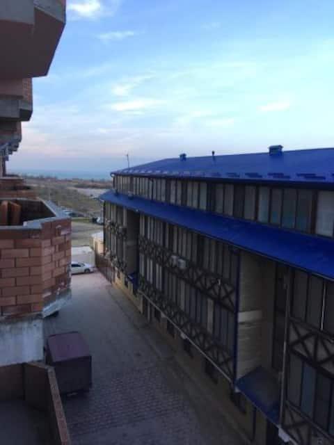 Отдых на берегу Каспийского моря