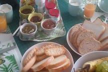 petit déjeuner en option ( 5€/pers.)