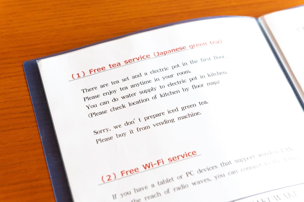 We have an English version of the guide! You can find free wifi instructions and other services here.