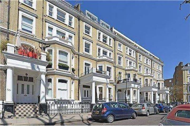 Kensington Large Bright Studio - London - Apartment