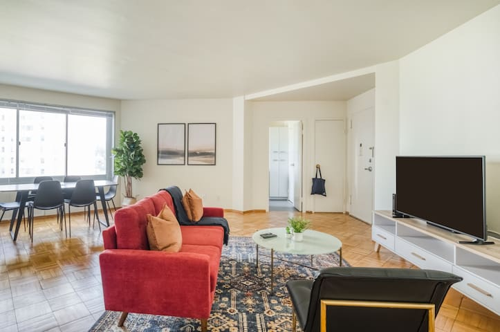 Lovely 1BR in San Francisco, Gym + Pet-Friendly