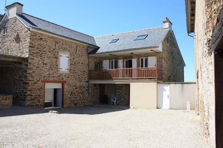 Old renovated farmhouse between Rodez / Albi