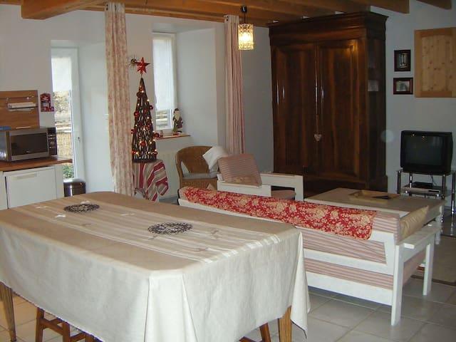 Chaleureuse petite maison au cœur des volcans - Aurières - Dom