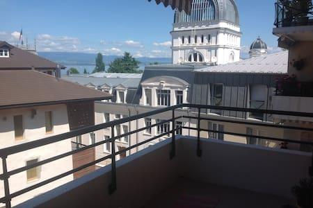 Appartement au coeur d'Evian-les_Bains - Évian-les-Bains - 公寓