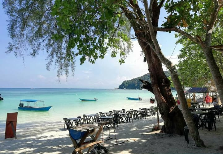 Camping with a View at Cabana Campsite Perhentian