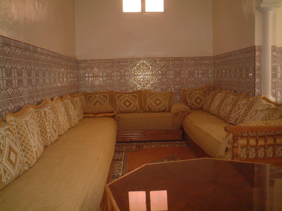 Un petit salon au RDC