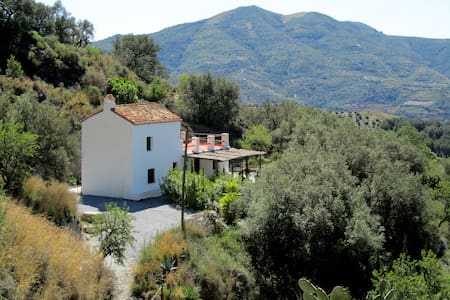 Traditional Andalusian farmhouse with sea view - Almuñécar