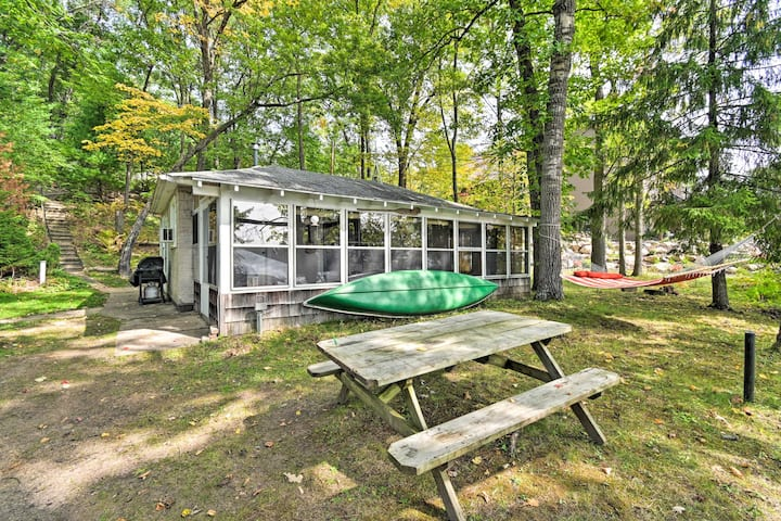 NEW! Lakefront Cabin w/ Private Dock & Boat Rental