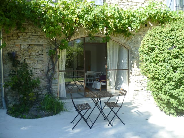 Old stone built Mas, swimming pool -'Eyzahut' - Pont-de-Barret - Apartamento