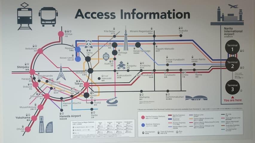 Shijuku JR Station 5 mins - Shibuya-ku - Appartement