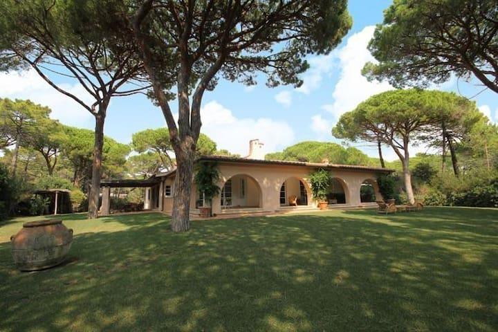 """Villa """"Le Ginestre"""" - Roccamare"""