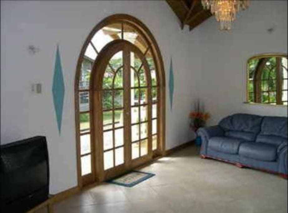Large, spacious front reception room