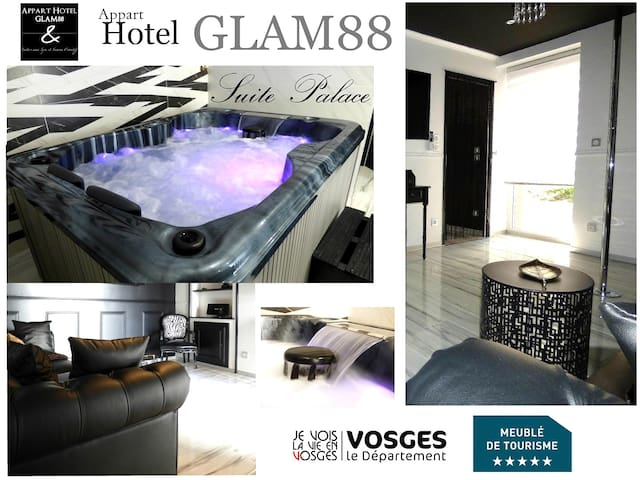 Suite PALACE avec SPA et SAUNA privatif GLAM88