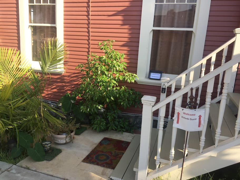 Access to Loft - Stairs to Front Door