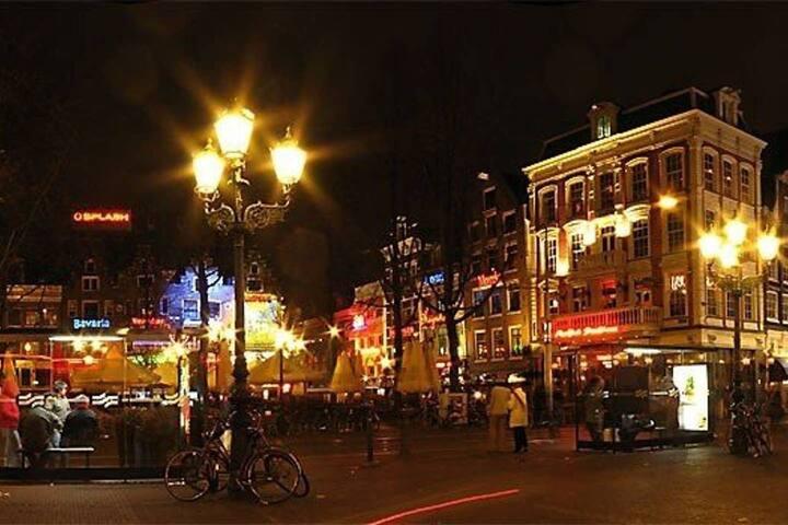 ...having the nightlife of the Leidseplein...