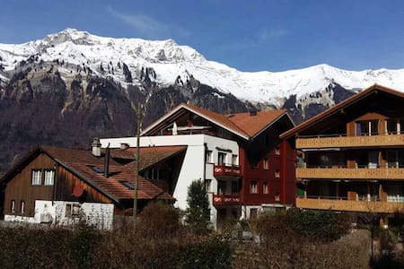 Luxurious apartment in the heart of Switzerland! - Iseltwald - Wohnung