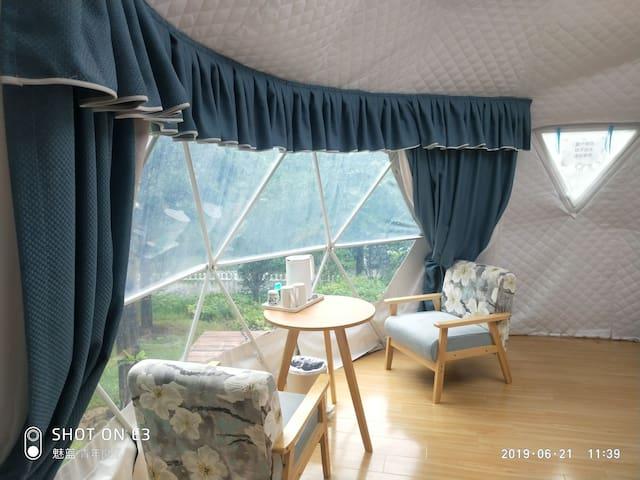 武汉园博园星空帐篷露营地酒店