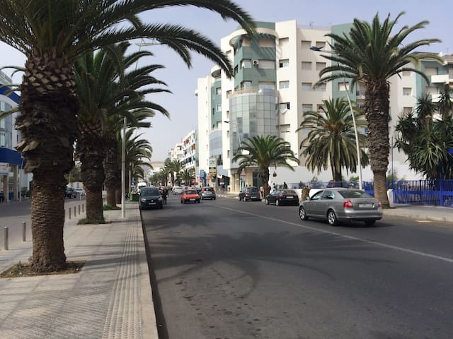 Appartement de rêve sur la plus belle avenue - Agadir - Apartment