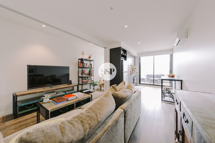 SMITH ST DESIGNER 1 BDR APT + WIFI + COLLINGWOOD - Collingwood - Pis