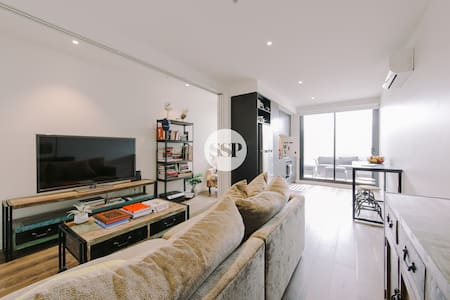 SMITH ST DESIGNER 1 BDR APT + WIFI + COLLINGWOOD - Collingwood - 公寓