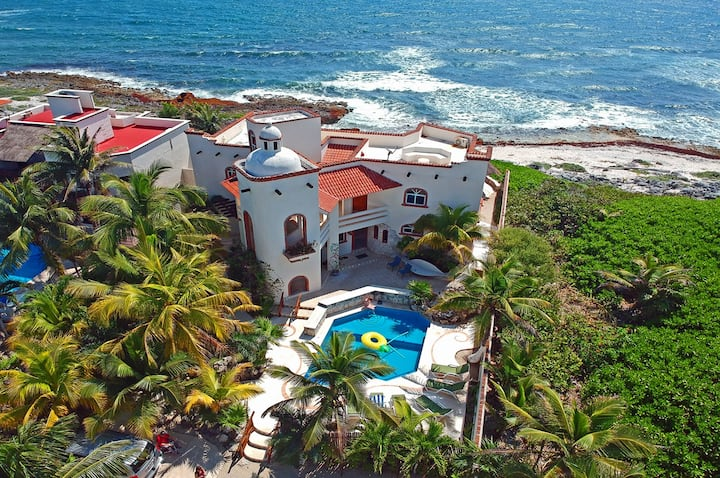 Villa Cascadas Akumal-Breathtaking Caribbean views