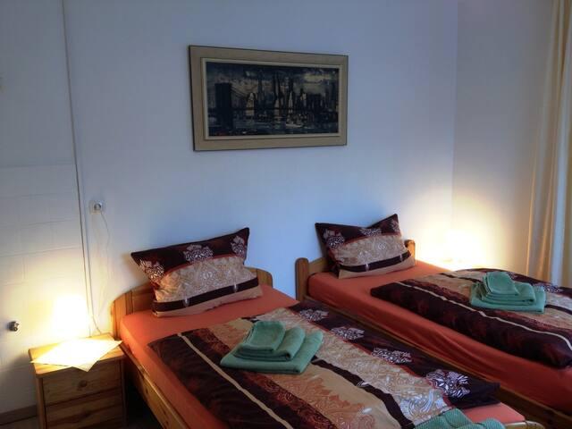 Gasthof-Pension Silberhaus (Tröstau), Zimmer 4 mit Etagenbad