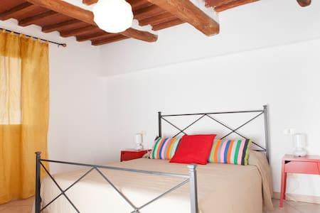 Casa La Piana, sulle mura del borgo medievale - Rapolano Terme - Daire