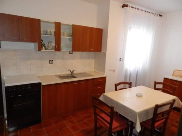 Two Bedroom Apartment, 200m from city center, in Pag - island Pag, Terrace