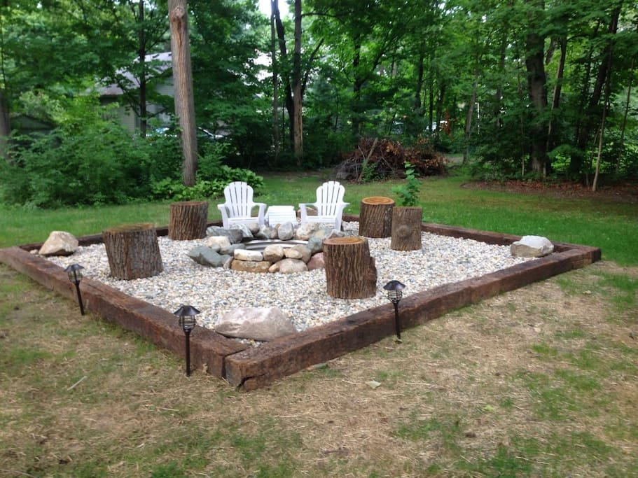 New outside fire pit & hot tub area coming for summer 2018 See notes in description.