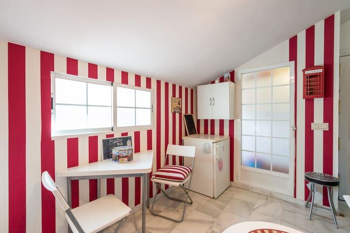 Soleado apartamento muy céntrico - Granada - Departamento