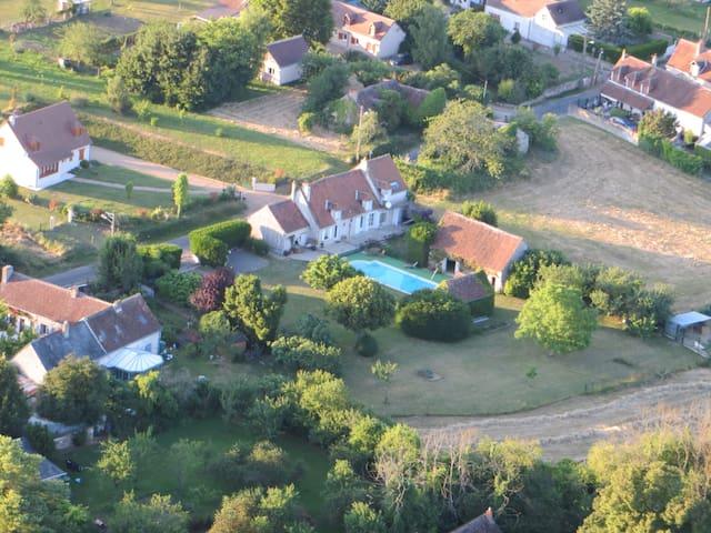 Domaine de la Lorien - Civray-sur-Esves - Bed & Breakfast