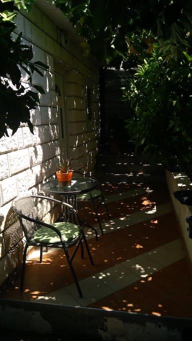 Outside/patio