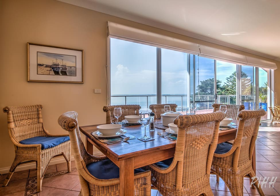 Dining area with a view...