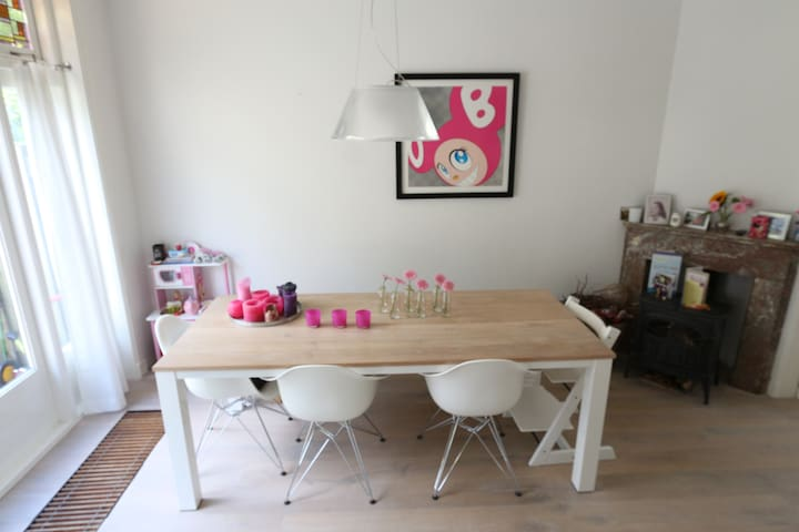 Lovely & modern home nearby beaches & city center - Haarlem - Rumah